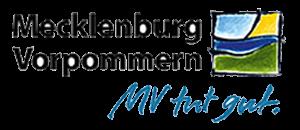 Logo MV tut gut der Landesmarketingkampagne Mecklenburg-Vorpommerns
